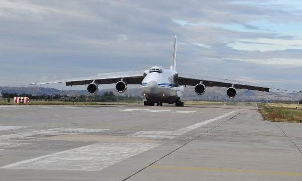 S-400 teslimatı devam ediyor… Rus kargo uçağı Ankara'ya indi