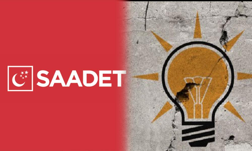 Saadet Partisi'nden AKP'ye 'FETÖ' göndermesi