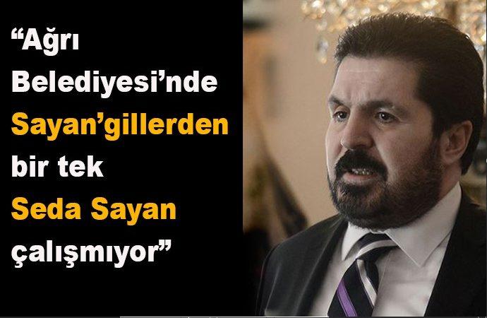 'Savcı Sayan yeğenini işe almadı' açıklamasını yapan avukat yeğeni de Ağrı belediye çalışanı çıktı