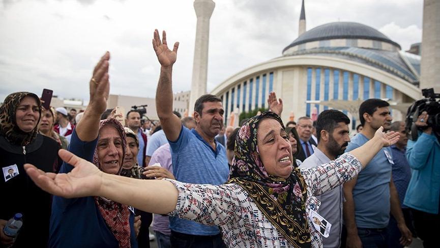 Erbil'de şehit edilen diplomat Osman Köse, Ankara'da toprağa verildi