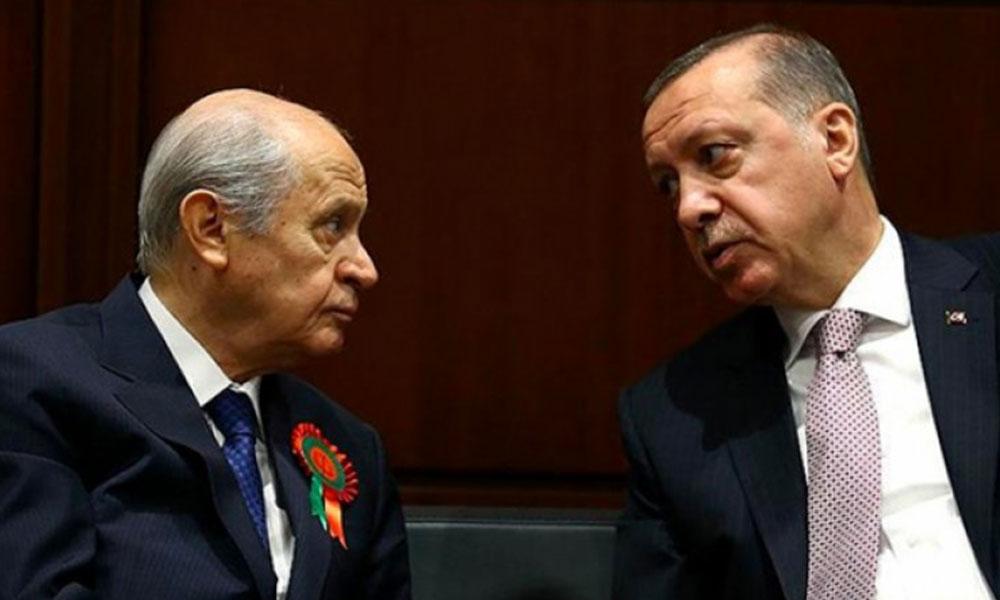 Saray ittifakında çatlak! Bahçeli AKP ile ters düştü
