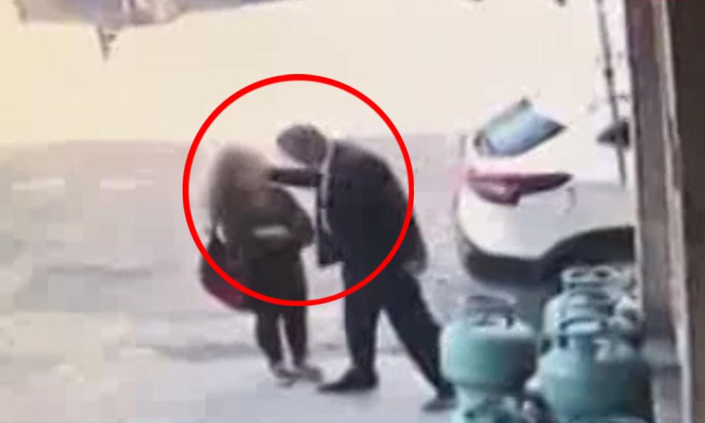 Bitlis'te 60 yaşında adamın 13 yaşındaki kıza taciz anı kameralara böyle yansıdı