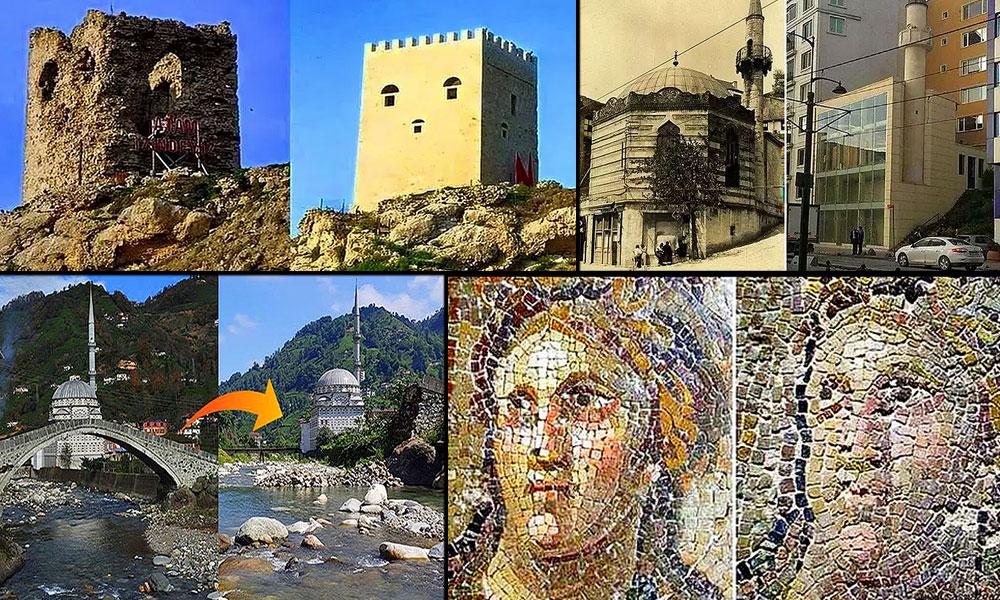 AKP'nin yaptığı restorasyon değil tarihi eser cinayeti! İşte 'Tarih' özelliğini yitiren dünya mirası eserler