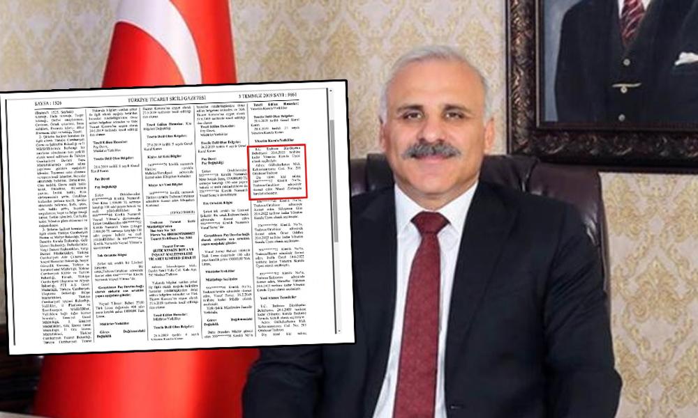 AKP'li Başkan kendisini müdür olarak atadığı şirketten maaş alıyor