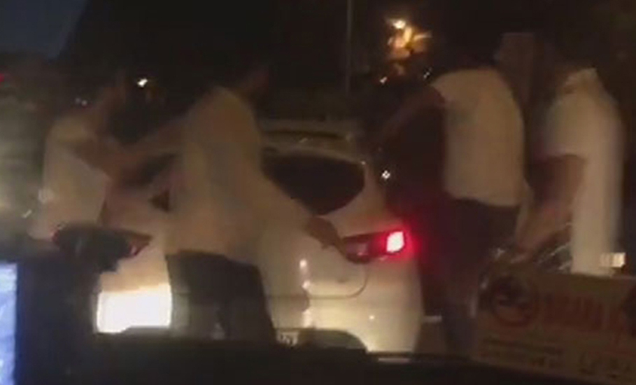 Yine İstanbul! Trafik magandaları Şişli'de saldırdı