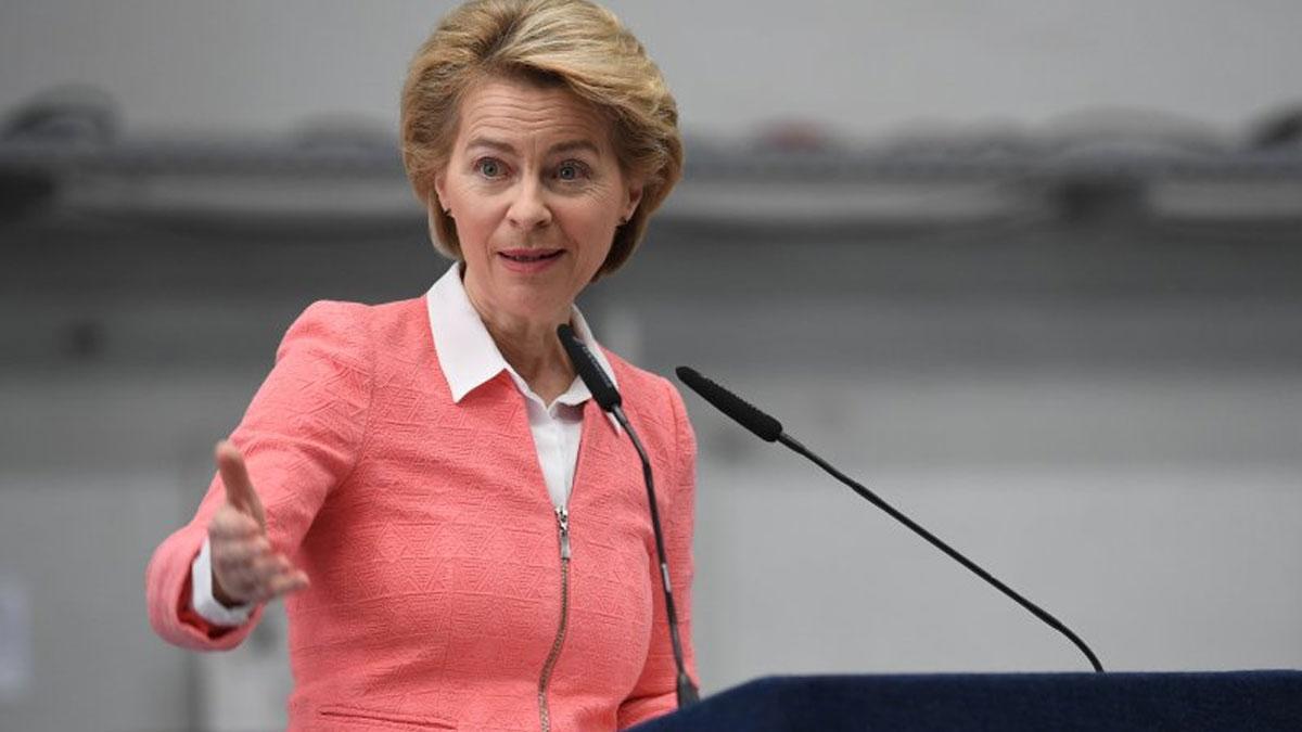 Ursula von der Leyen, AB Komisyonu Başkanlığına atanan ilk kadın oldu