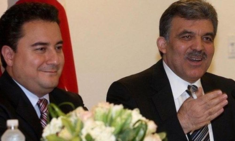 AKP'nin parçalanmasına asla 'izin vermeyeceğiz' demişti… Gül ve Babacan'a 'Huzur Partisi' müjdesi