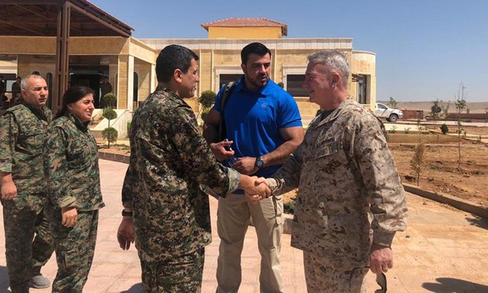 ABD'li general, Jeffrey'nin Tükiye ziyareti sırasında YPG komutanıyla görüştü