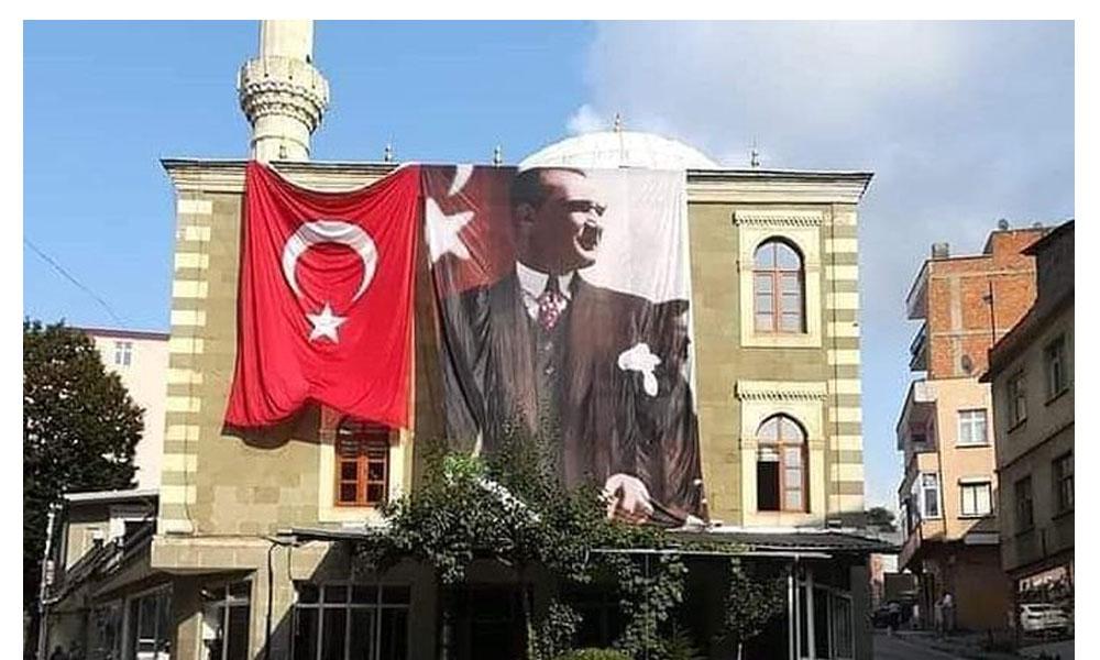 'Müftülük Atatürk posterini indirmek istedi' iddiası