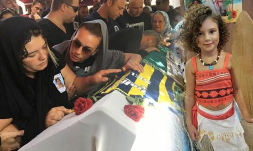 Maganda kurşunuyla ölen 10 yaşındaki Selin toprağa verildi
