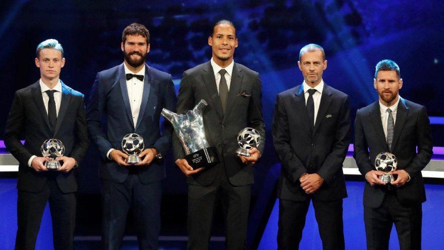UEFA Yılın En İyi Futbolcusu ödülü sahibini buldu!