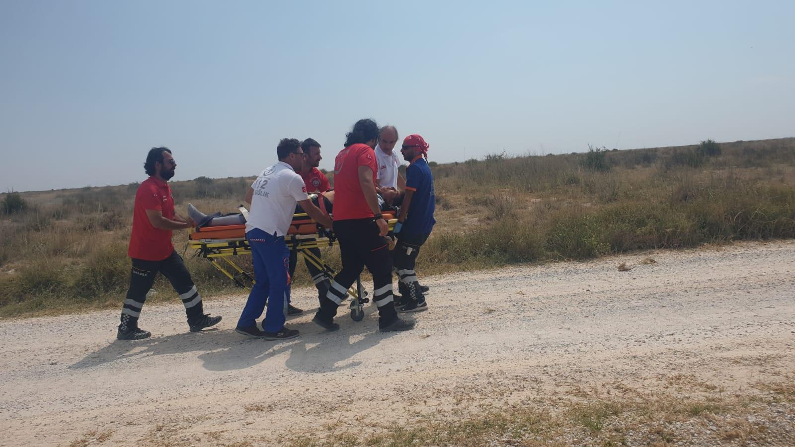 TransAnatolia yarışlarındaki kazada Türk motosikletçi yaralandı