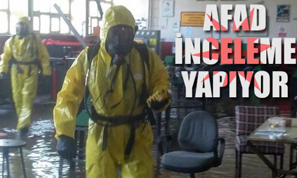 Sakarya'da lisede kimyasal alarm: Zehirli gaz açığa çıktı