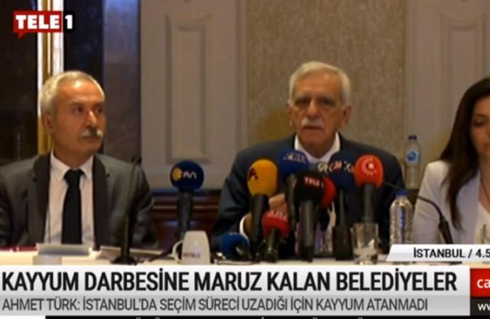 Ahmet Türk'ten CHP'ye çağrı: Biz CHP'ye değil demokrasiye destek verdik