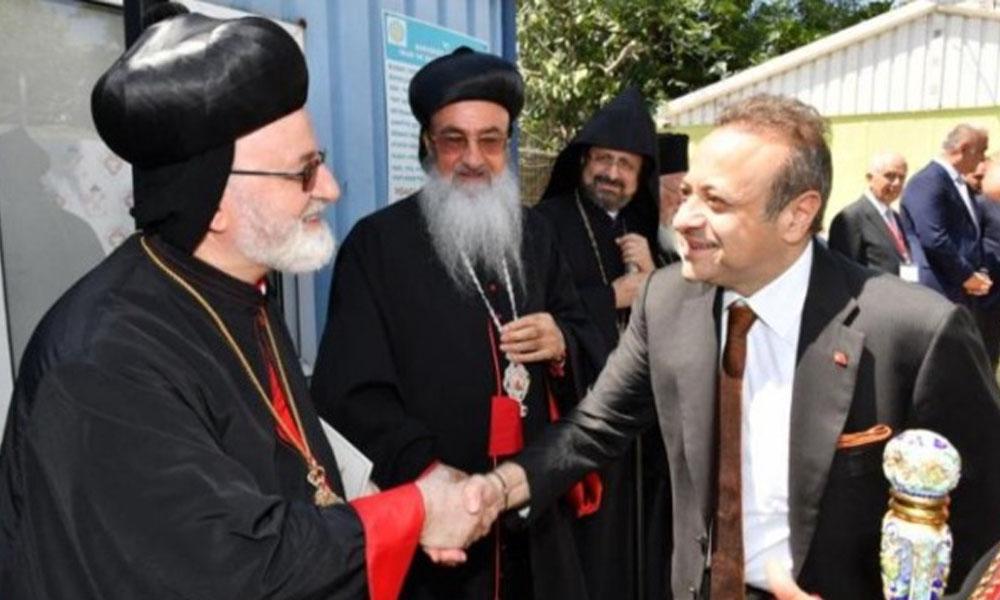 Mor Efrem Kilisesi projesinde 'Bakaracı' Egemen Bağış