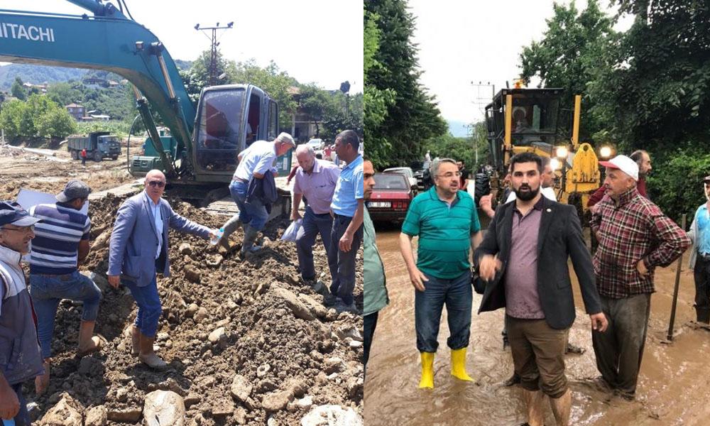 Afette bile siyaseti düşünmüşler: Düzce Belediyesi'nden İmamoğlu'na engelleme