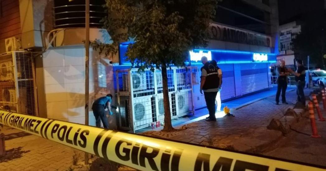 İstanbul'da banka şubesine EYP'li saldırı