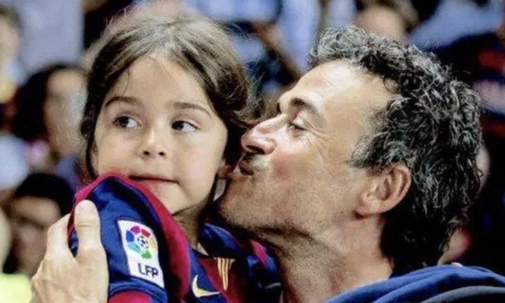 Eski Barselona menajeri Luis Enrique'nin dokuz yaşındaki kız kansere yenik düştü