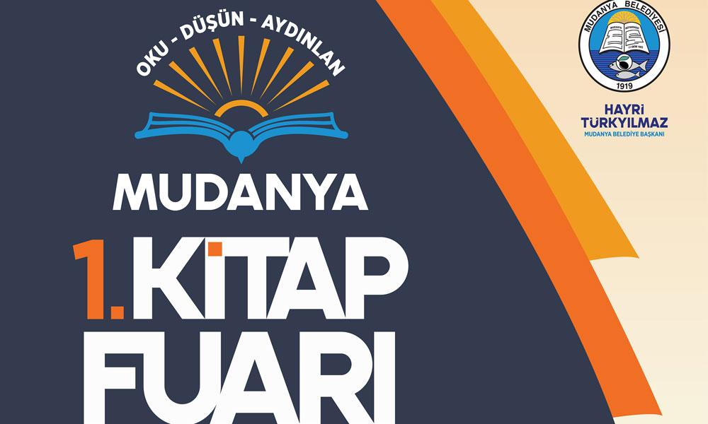Mudanya Belediyesi, birinci kitap fuarını duyurdu!