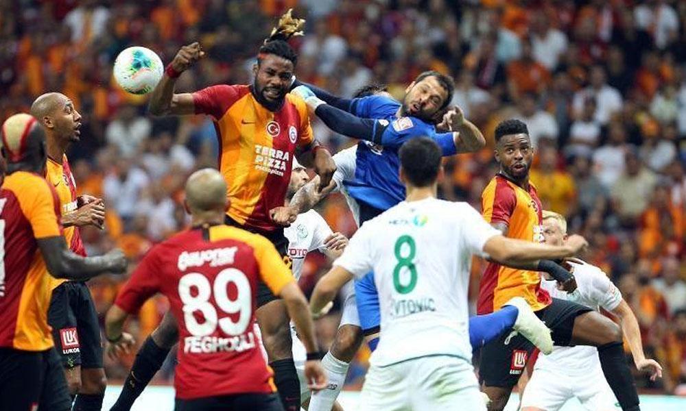Aslan son anda yıkıldı! Galatasaray 1-1 Konyaspor
