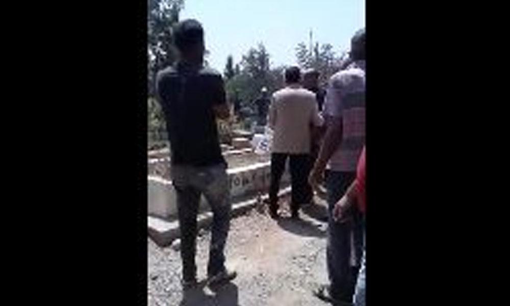 Mezarlıkları saldırıya uğradı… Vatandaşlardan AKP'li başkana tepki!