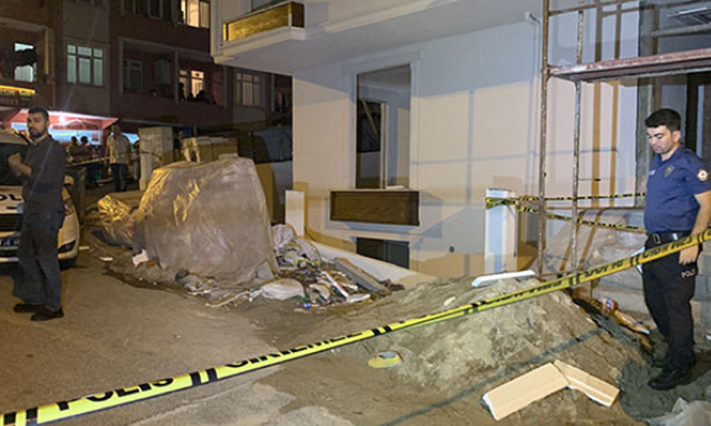 Çekmeköy'de inşaat işçisi asansör boşluğunda ölü bulundu