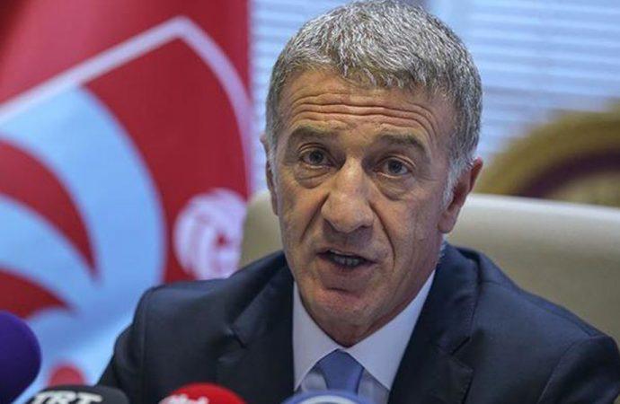 Trabzonspor Başkanı Ağaoğlu'ndan men kararı sonrası ilk açıklama