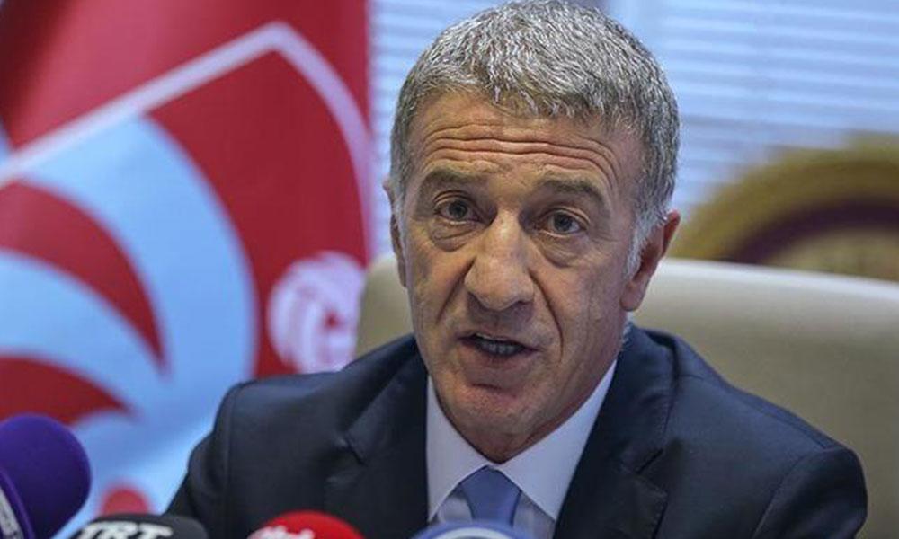 Trabzonspor Başkanı Ağaoğlu'ndan Fenerbahçe maçı açıklaması
