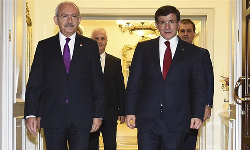 Kemal Kılıçdaroğlu'nun çağrısına ilk cevap Ahmet Davutoğlu'ndan…