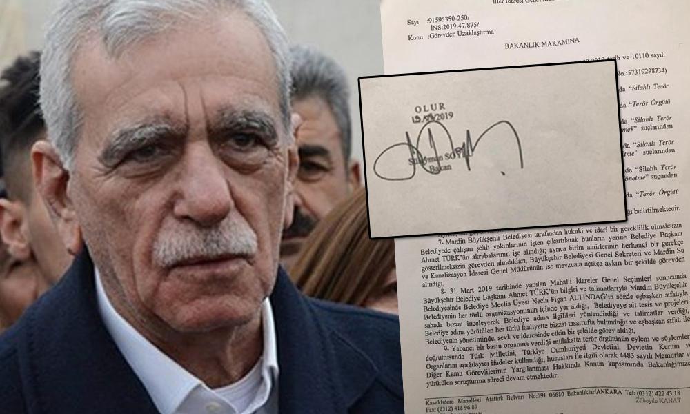 Diyarbakır'dan sonra Mardin belgesi de ortaya çıktı! Kayyum hazırlığı 1 Nisan'da başlamış