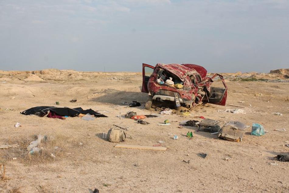 Aksaray'da feci kaza: Cip şarampole devrildi 1'i çocuk 3 kişi öldü
