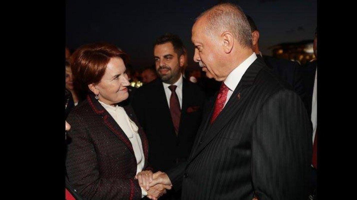 İyi Parti'den, Akşener ve Erdoğan'ın resepsiyondaki sohbetine ilişkin açıklama
