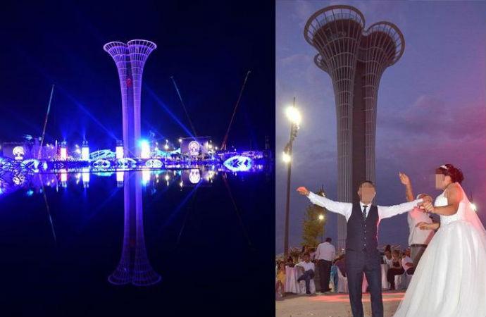 Erdoğan'ın açılışını yaptığı 1 milyarlık Antalya Expo düğün salonuna çevrildi