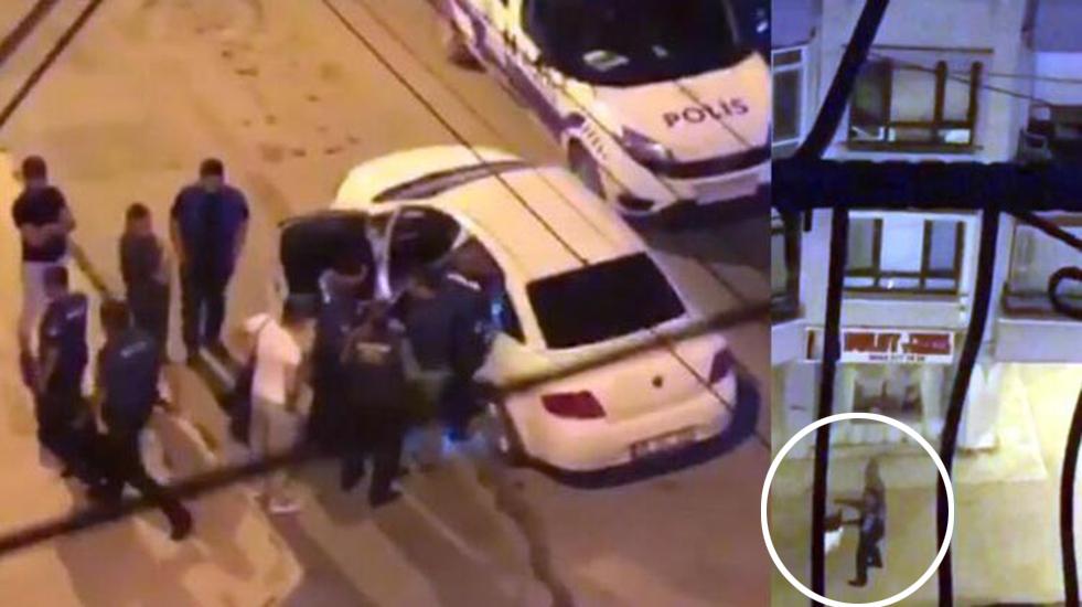Ankara'da, etrafa rastgele ateş açan 'Arap' lakaplı kişi gözaltına alındı
