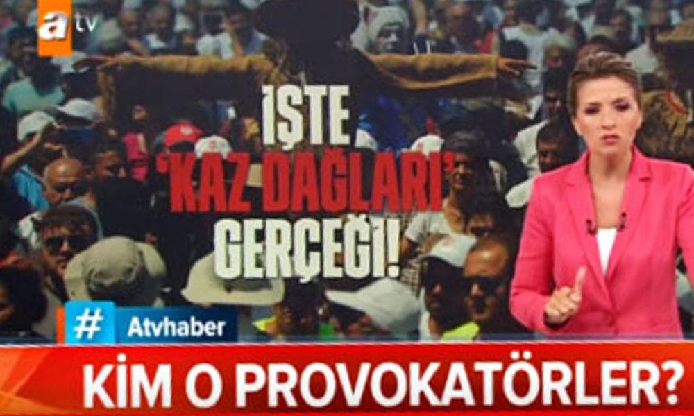 Yandaş ATV haberden Kaz Dağları'ndaki katliama destek! Tek tek hedef aldılar