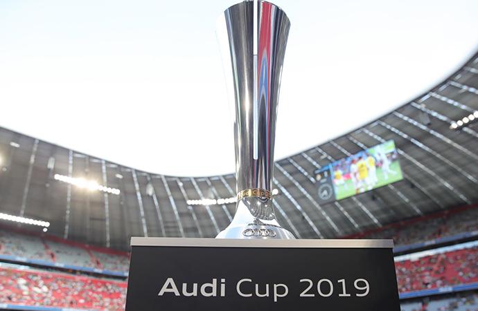 Audi Cup'ın şampiyonu belli oldu!