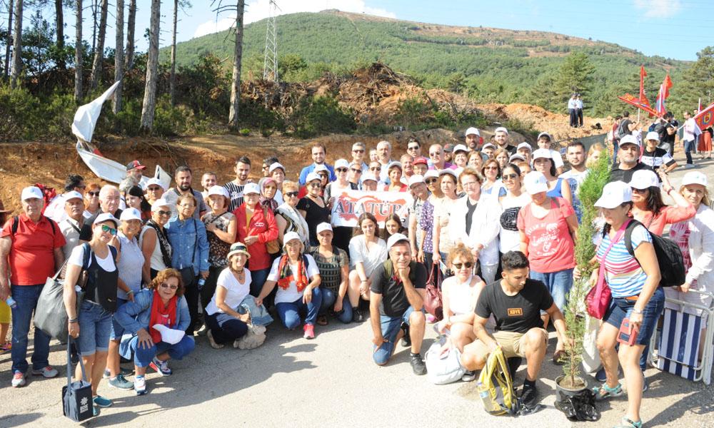 Balçova'dan Kaz Dağlarına destek