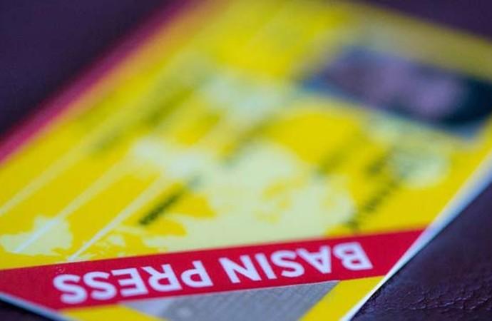 403 basın kartı 'milli güvenlik' gerekçesiyle iptal edildi