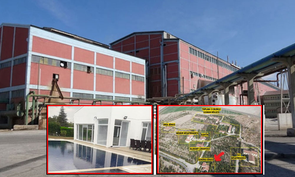 Hülleli satış olarak tarihe geçmişti: Şeker fabrikası havuzlu villa oldu