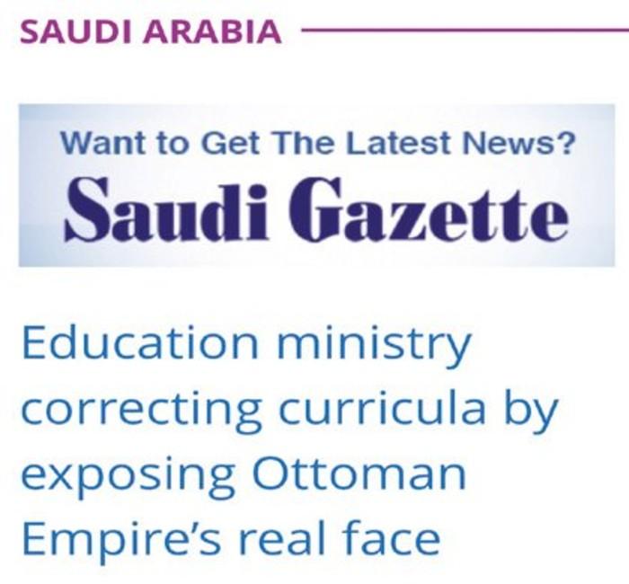 Can Ataklı, Suudilerin ders kitabını gündeme getirdi: Türkiye'yi Araplaştırmaya çalışanların bundan haberi var mı?