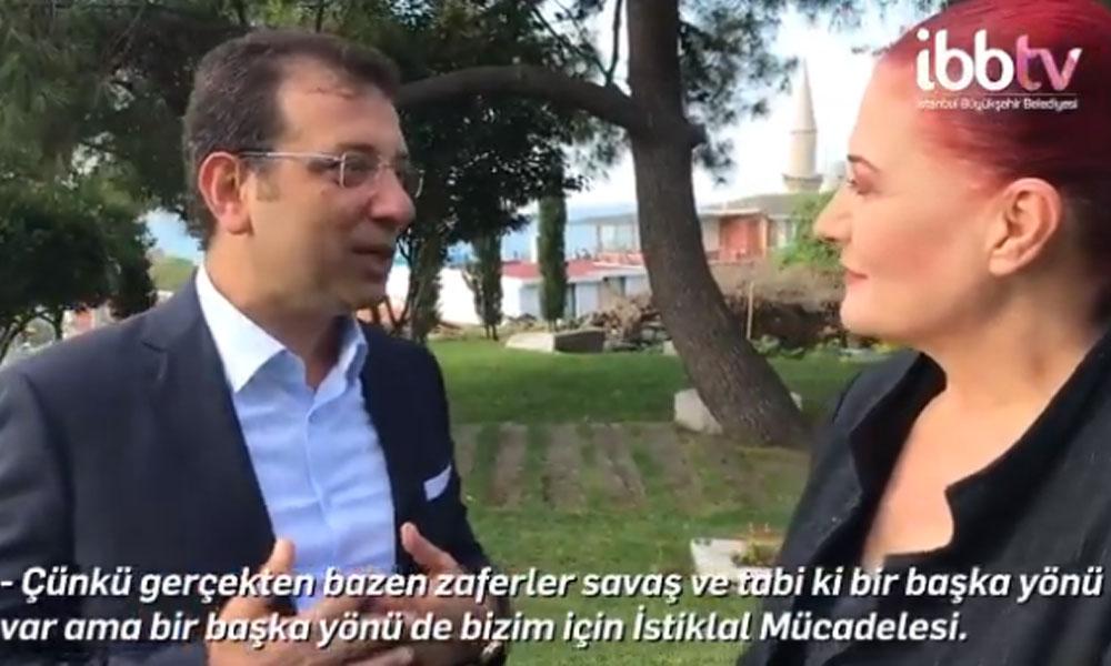 Ekrem İmamoğlu'ndan İstanbul'a 'Candan Erçetin'li bayram daveti