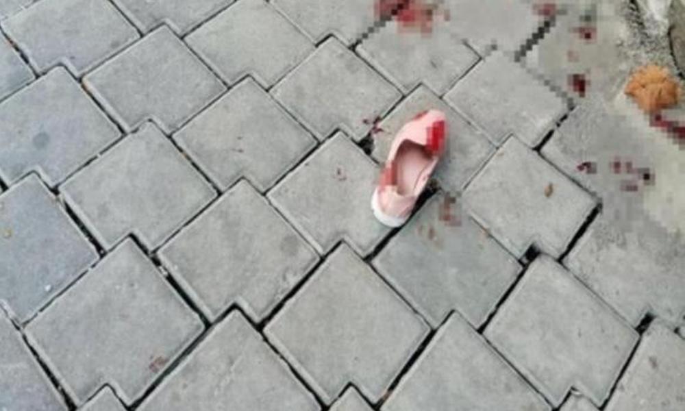 Sokak ortasında dehşet! Dört yaşındaki kızı da yanındaydı…