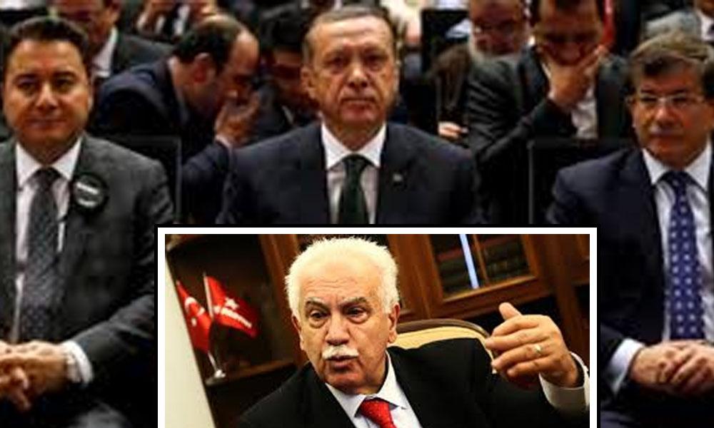 Erdoğan Perinçek Babacan Davutoğlu yarın akşam bir araya gelecek mi?