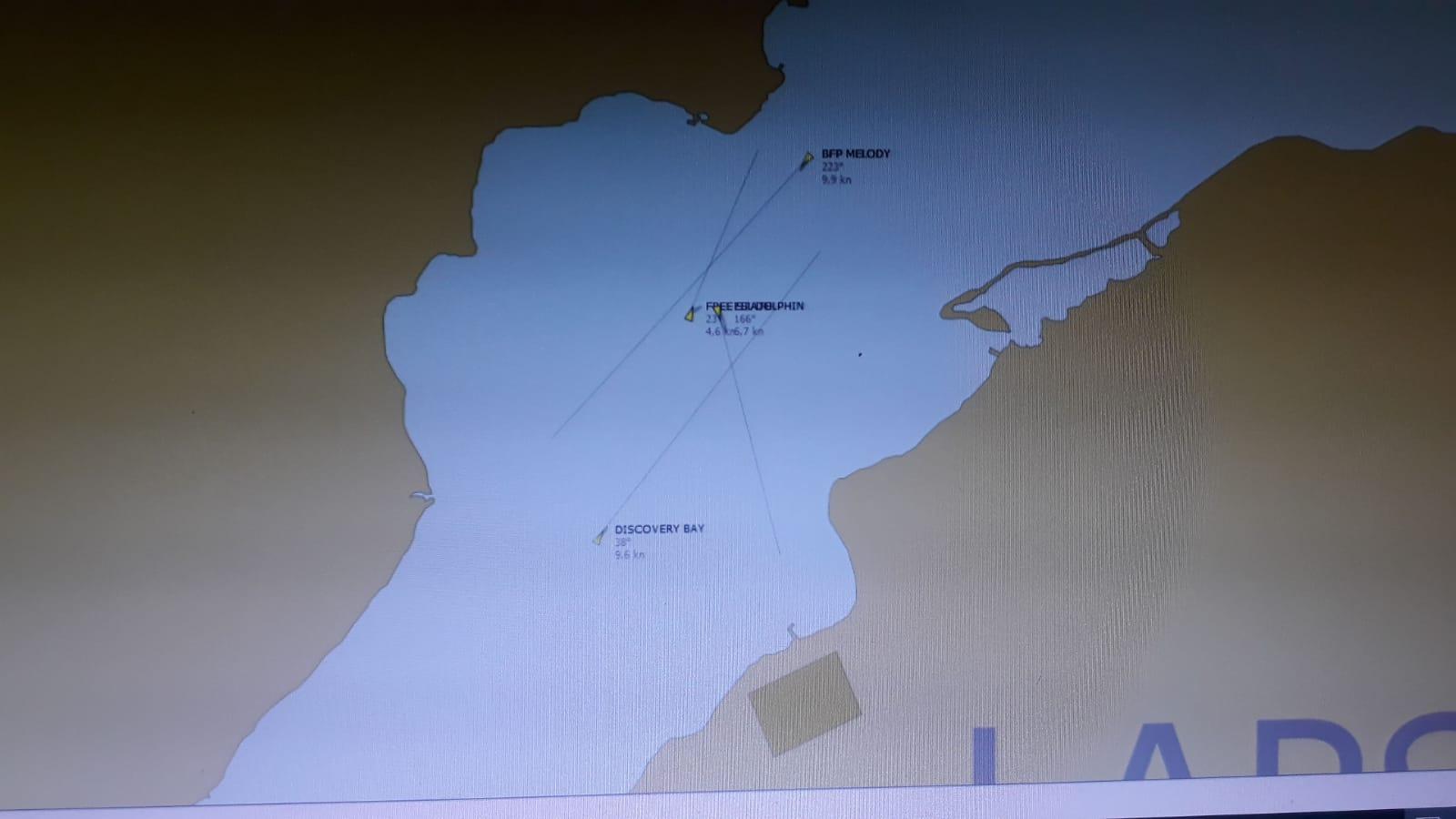 Çanakkale Boğazı'nda korkutan kaza: İki gemi çatıştı