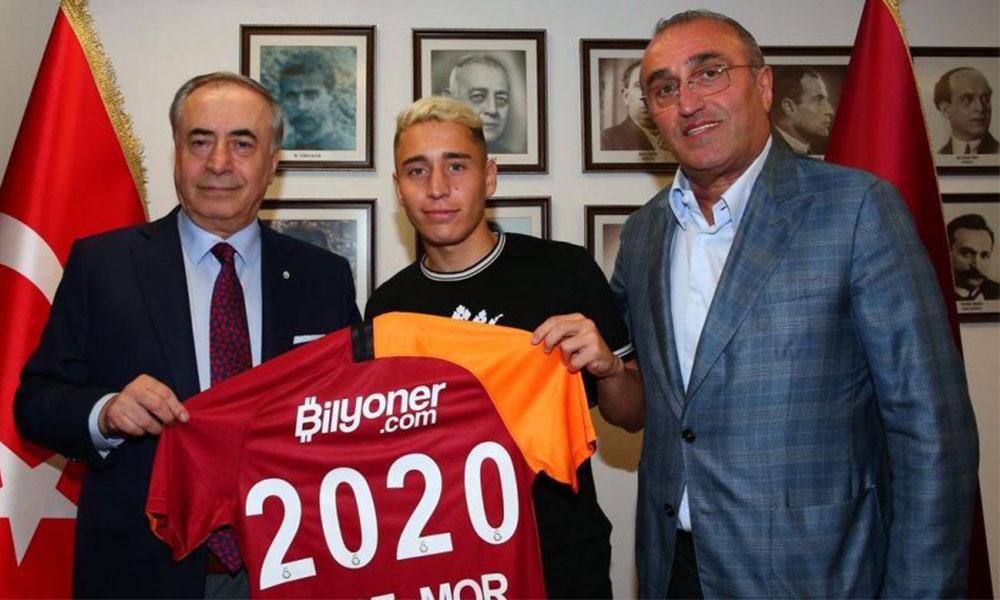 Galatasaray Emre Mor'u resmen açıkladı!