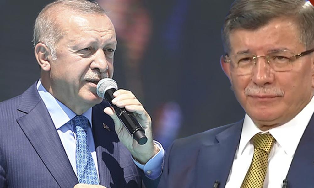 Erdoğan'dan Davutoğlu'na ağır benzetme!