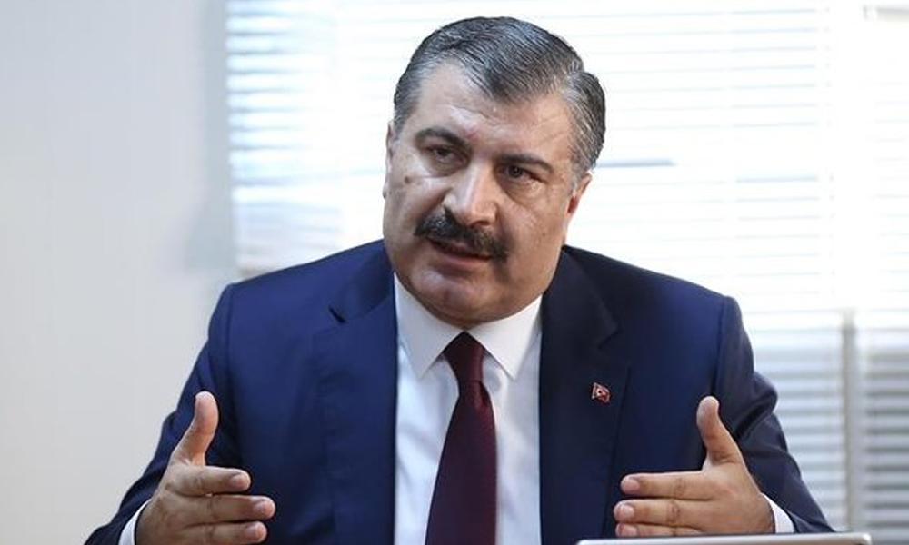 Sağlık Bakanı Fahrettin Koca'yı korkutan görüntü: İyi değil!