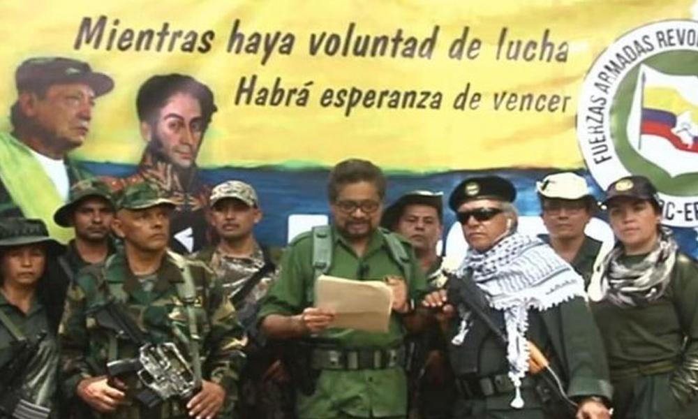 Silahlı mücadeleye geri dönme kararı alan FARC'ın dört lideri için tutuklama emri