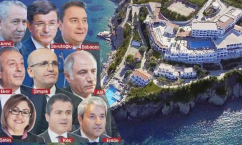 İşte FETÖ'nün 'özel misafiri' olan AKP'lilerin listesi!