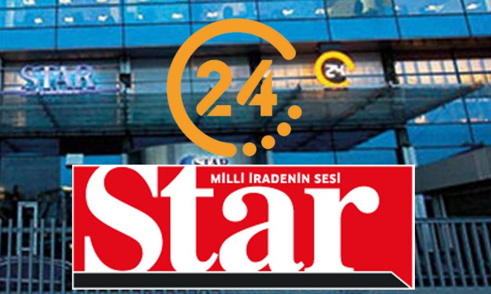 24 TV ve Star gazetesinde büyük deprem!